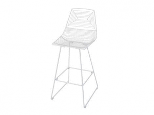 Illusion Bar Stool - White-0