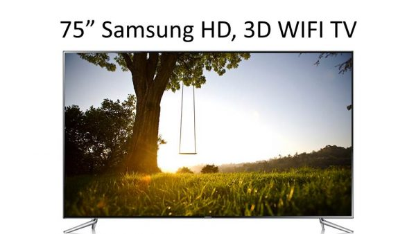 "75"" Samsung Full HD 3D LED Smart TV WIFI-0"