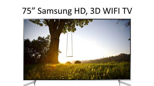"75"" Samsung Full HD 3D LED Smart TV WIFI-0"