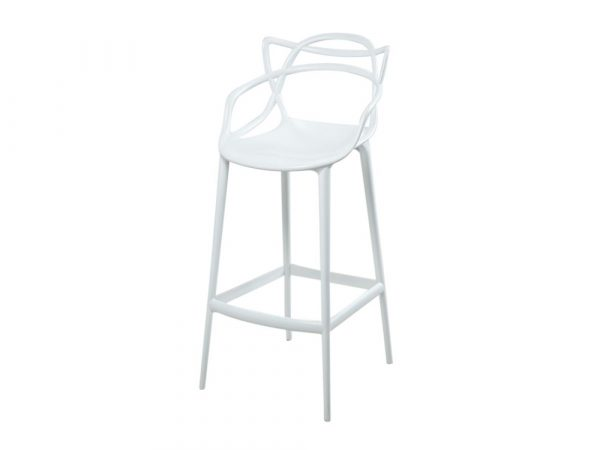 Masters Bar Stool - White-0