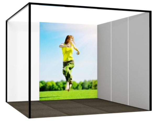 Fabric Banner: 2m wide x 2.4m high-0