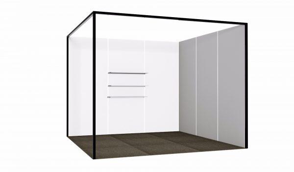 White MDF Shelf-237
