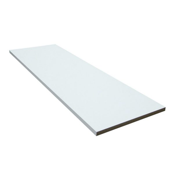 White MDF Shelf-0