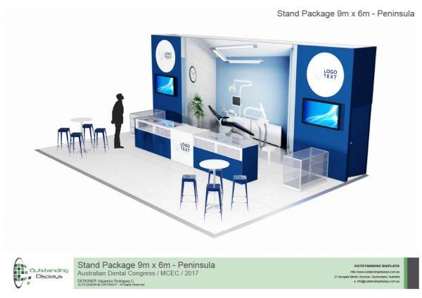 9m x 6m Peninsula Upgrade Stand-268