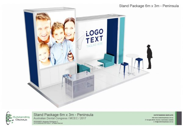 6m x 3m Peninsula Upgrade Stand-240