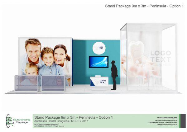 9m x 3m Peninsula Upgrade Stand-260