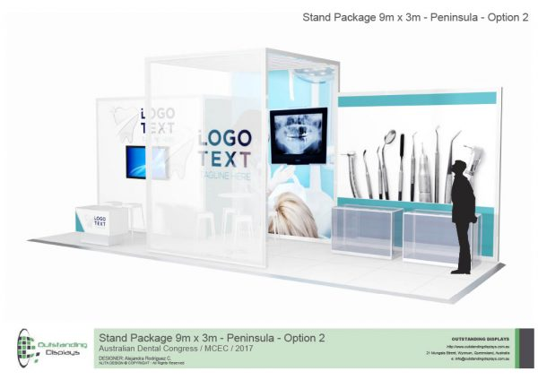 9m x 3m Peninsula Upgrade Stand-262