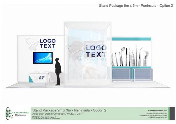 9m x 3m Peninsula Upgrade Stand-263
