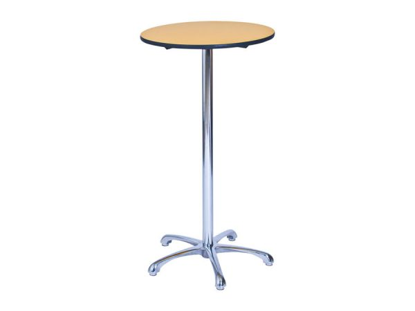 Ainsley Bar Table - Yellow (600mm dia) -0