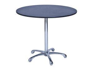 Ainsley Café Table Black (900mm dia) -0