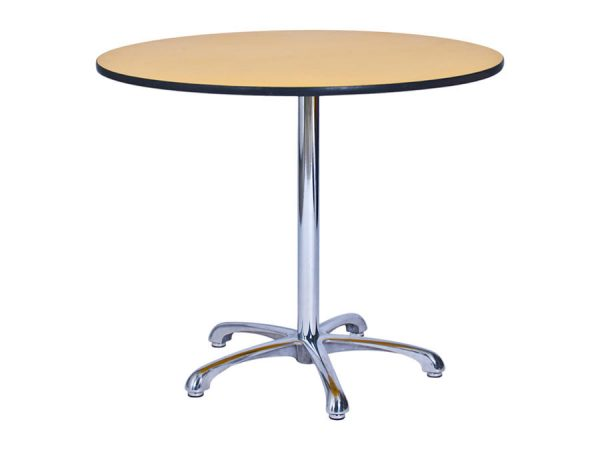Ainsley Café Table Yellow (900mm dia) -0