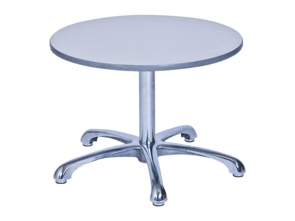 Ainsley Café Table Grey (900mm dia) -0