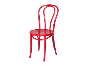Bentwood Chair - Red-0