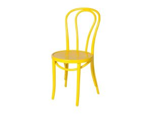Bentwood Chair - Yellow-0