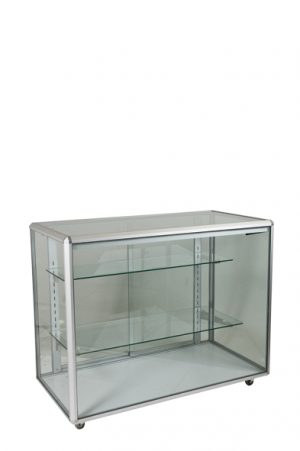 Full Glass Counter Display Cabinet -0