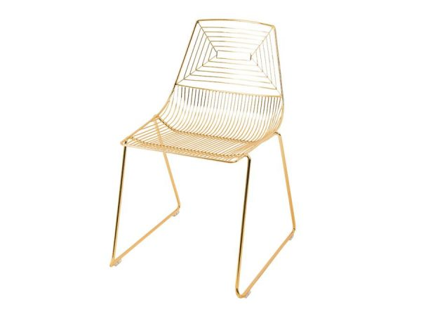 Illusion Chair - Gold-0