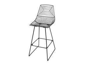 Illusion Bar Stool - Black-0