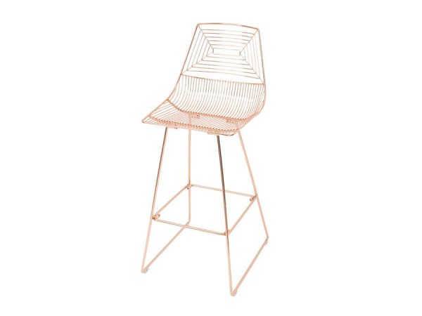 Illusion Bar Stool - Copper-0
