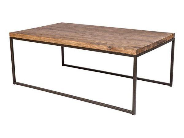 Industrial Coffee Table - Rectangle-0