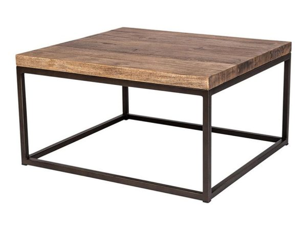 Industrial Coffee Table - Square-0