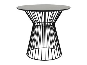 Piper Café Table - Black-0