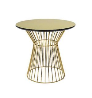 Piper Café Table - Gold-0