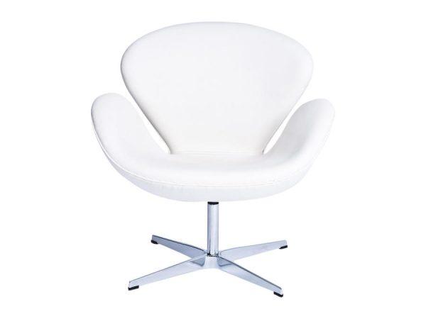 Swan Swivel Tub Chair - White-0