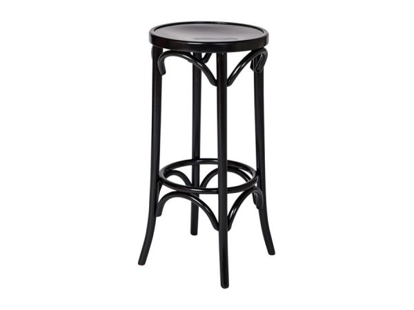 Bentwood Stool - Black-0