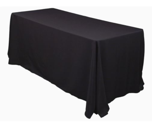 Table Cloth - Black-0