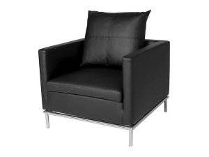 Cosa Armchair - Black-0