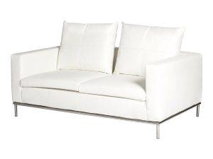 Cosa 2 Seater Lounge - White-0