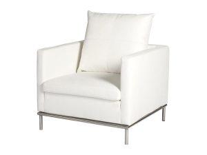 Cosa Armchair - White-0