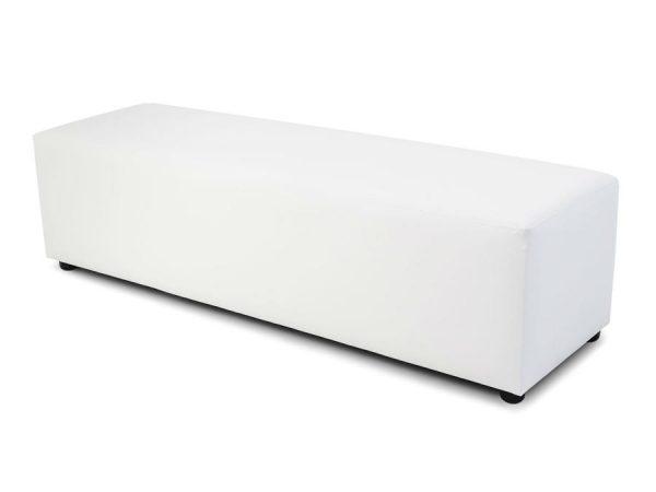 Flexo Ottoman - White-0