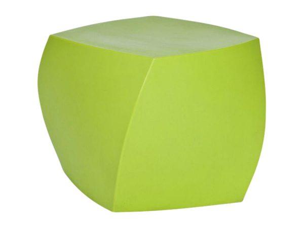 Gehry Twist Ottoman - Green-0