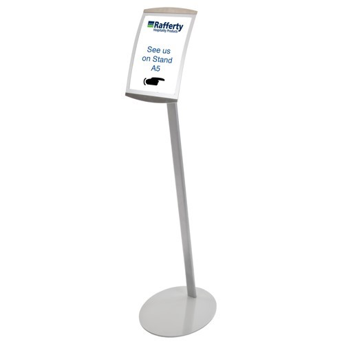 A4 Freestanding Display Stand-0