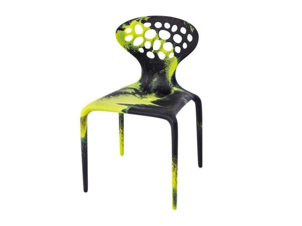 Supernatural Chair - Black/Green-0