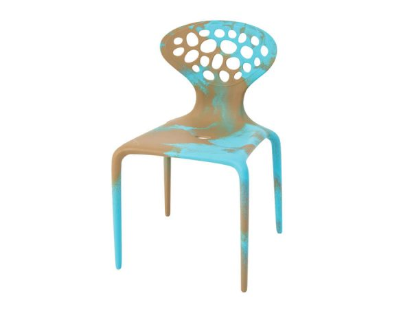 Supernatural Chair - Turquoise/Caramel-0