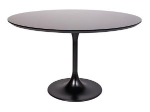 Tulip Cafe Table - Black-0