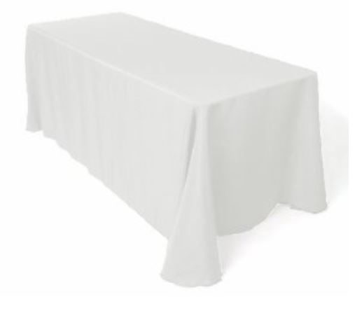 Table Cloth - White-0